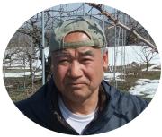 さくらんぼ(佐藤錦)生産者の野口さん