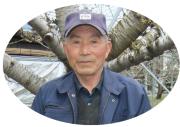 さくらんぼ(佐藤錦)生産者の大野さん