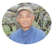 さくらんぼ(佐藤錦)生産者の柴田さん